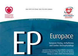 Coautor del estudio médico sobre alteraciones electrocardiográficas publicado en la prestigiosa revista 'Europace Journal'
