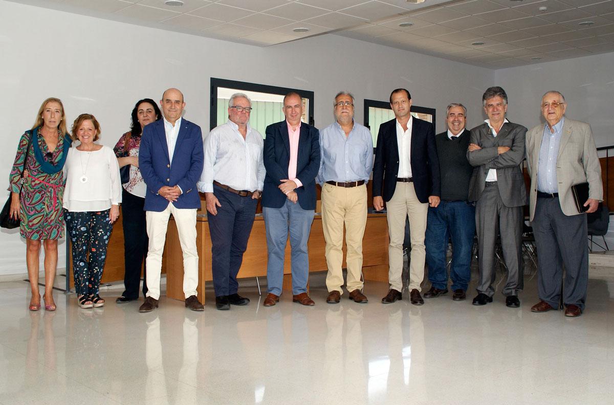 Reunion tutores docentes Colegio Medicos Malaga grupo