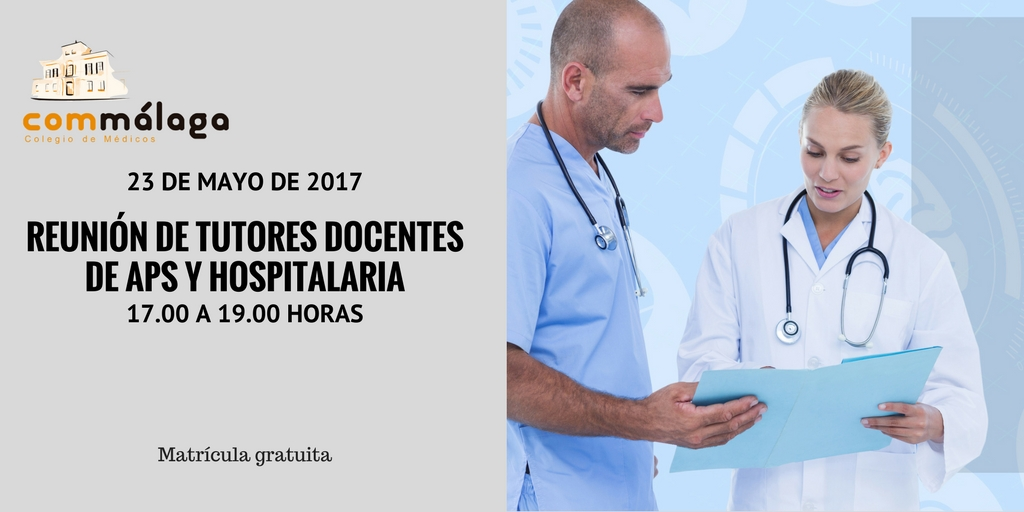 Reunion tutores docentes Colegio Medicos Malaga
